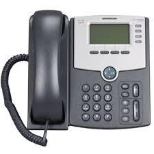 Cisco SPA504G IP Telefoon met PoE voor 4 lijnen [REFURBISHED]