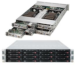 Supermicro SuperServer 6027TR-H71RF romley Barebone [REFURBISHED]