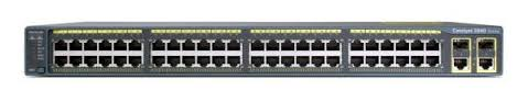 Cisco WS-C2960-48PST-L Switch